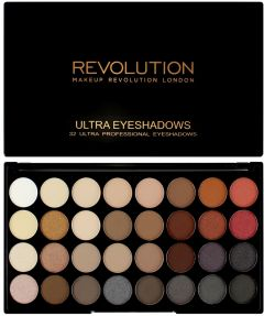 Makeup Revolution Ultra Eyeshadows Palette (16g) Flawless 2