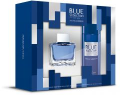 Antonio Banderas Blue Seduction EDT (50mL) + DSP (150mL)