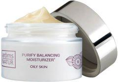 Aroms Natur Purify Balancing Moisturizer 12h Day Cream Oily Skin (50mL)