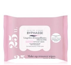 Byphasse Make-up Remover Wipes Milk Proteins All Skin Types (25pcs)