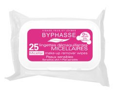 Byphasse Micellar Make Up Remover Wipes (25pcs)