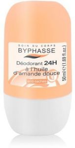 Byphasse 24H Roll-On Deodorant Sweet Almond Oil (50mL)