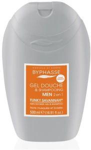Byphasse Shower Gel-Shampoo Funky Savanna (500mL)