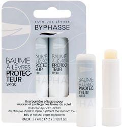 Byphasse Moisturizing Lip Balm SPF30 (2pcs)