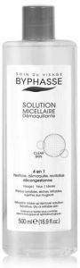 Byphasse Micellar Make-up Remover Solution with Activated Charcoal (500mL)