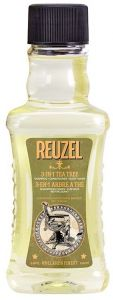 Reuzel 3in1 Tea Tree Shampoo, Cond. & Body Wash (100mL)