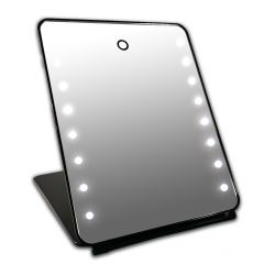Gerard Brinard I-Pad Mirror Black 16x Led With Touch Sensor (25x19x2cm)