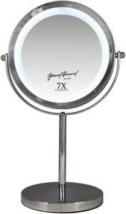 Gerard Brinard Metal Make-Up LED Mirror Double-Sided