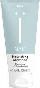 Naïf Nourishing Shampoo with Linseed Extract (200mL)