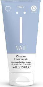 Naïf Circular Face Scrub (50mL)