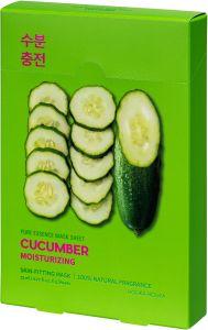 Holika Holika Pure Essence Mask Sheet - Cucumber (5x23mL)