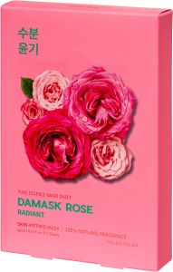 Holika Holika Pure Essence Mask Sheet - Damask Rose (5x23mL)