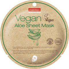 Purederm Vegan Aloe Sheet Mask (23g)