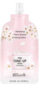 Beausta Pink Tone Up Cream (15mL)