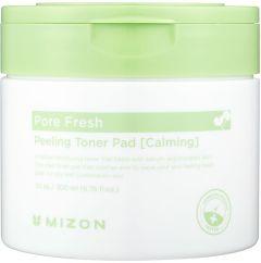 Mizon Pore Fresh Peeling Toner Pad CALMING (30pcs)