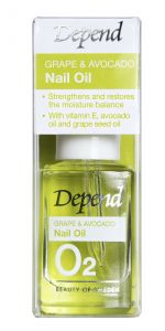 Depend O2 Grape&Avocado Nail Oil (11mL)