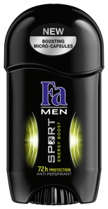 Fa Stick Deodorant Men Sport Energy Boost (50g)