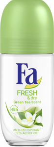 Fa Roll-On Deodorant Fresh&Dry Green Tea (50mL)