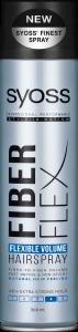 Syoss Styl. Hairspray Fiber Flex Flexible Volume (300mL)