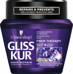 Gliss Kur Treatment Jar Fiber Therapy (300mL)
