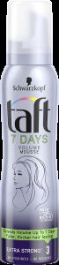 Taft Hair Mousse 7 Days Volume (150mL)