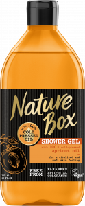 Nature Box Shower Gel Apricot Oil Glow (385mL)