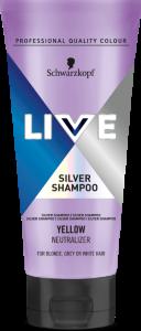 Schwarzkopf Live Silver Shampoo (200mL)