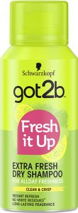 Got2b Dry Shampoo Xtra Fresh Mini (100mL)