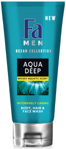 Fa Shower Cream&Shampoo Men Aqua Deep (200mL)