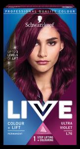 Schwarzkopf Live Color+lift L76 Ultra Violet