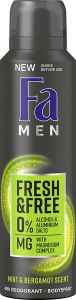 Fa Men Deodorant Fresh & Free Bodyspray Mint & Bergamot (150mL)