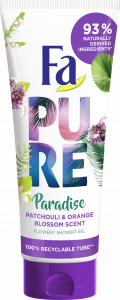 Fa Shower Gel Pure Paradise Patchouli & Orange (200mL)