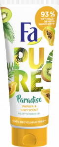 Fa Shower Gel Pure Paradise Papaya&Kiwi (200mL)