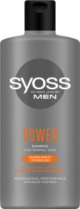 Syoss Shampoo Men Power&Strenght (440mL)