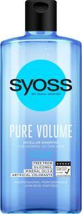 Syoss Shampoo Pure Volume (440mL)