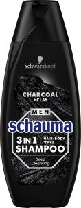 Schauma Men Shampoo Charcoal (400mL)