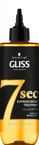 Schwarzkopf Gliss Express Repair 7 Seconds Oil Nutritive  (200mL)