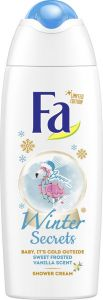 Fa Shower Gel Winter Secrets Frosted Vanilla (250mL)