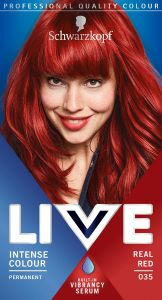 Schwarzkopf Live Intense 035 Colour Real Red