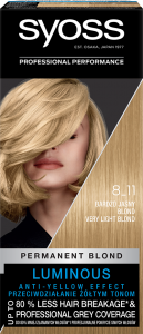 Syoss Color 8-11 Very Light Blond