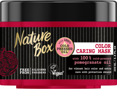 Nature Box Hair Mask Pomegranate Oil Color Caring (200mL)