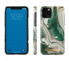 iDeal of Sweden Fashion Case iPhone 11 Pro Golden Jade Marble