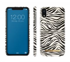 iDeal of Sweden Fashion Case iPhone XR Zafari Zebra