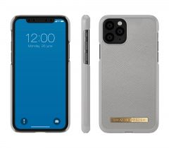 iDeal of Sweden Fashion Case Saffiano iPhone 11 Pro Light Grey