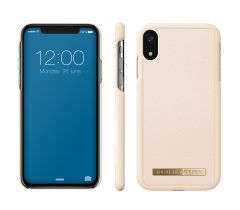 iDeal of Sweden Fashion Case Saffiano iPhone XR Beige