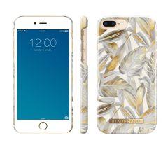 iDeal of Sweden Fashion Case iPhone 8/7/6/6s Plus Platinum Leaves