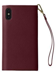 iDeal of Sweden Mayfair Clutch iPhone XS/X Burgundy