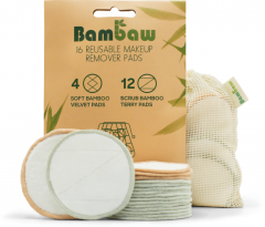 Bambaw Pack Reusable Makeu-up Pads (16Pads)
