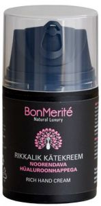BonMerité Rich Hand Cream with Hyaluronic Acid