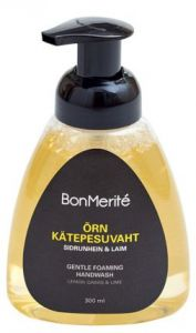 BonMerité Extra Gentle Hand Cleansing Foam Lemongrass & Lime (300mL)
